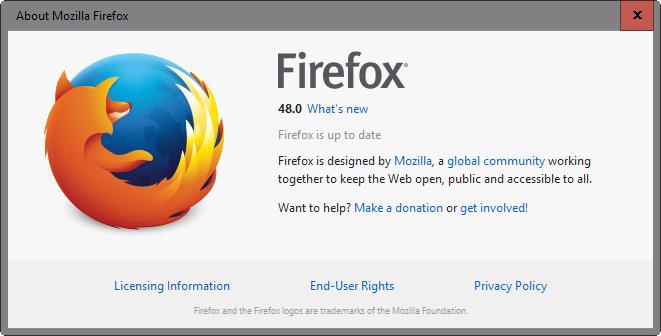 Firefox 48 Released