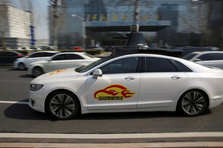 China's Baidu Receive Green Signal For Self-Driving Car Tests In Beijing