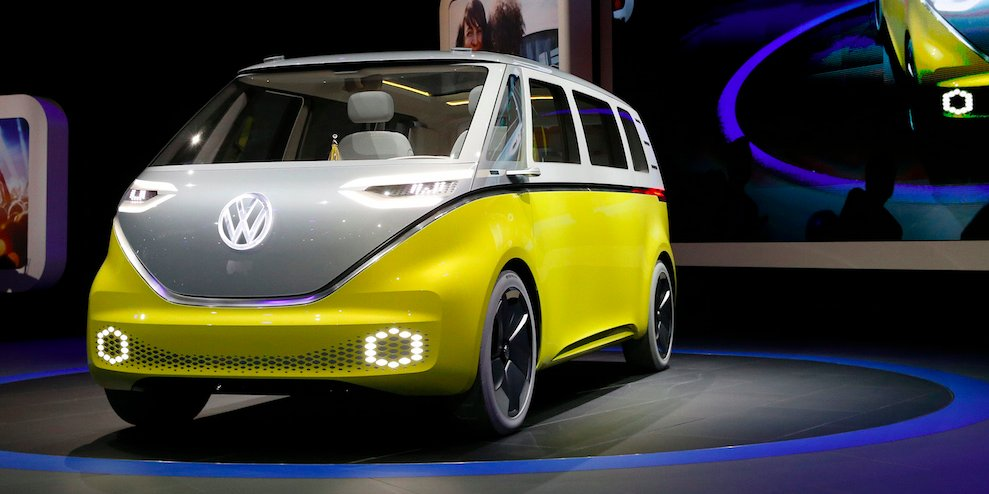 For Electric-Car Design Guidance Volkswagen Looks At Apple