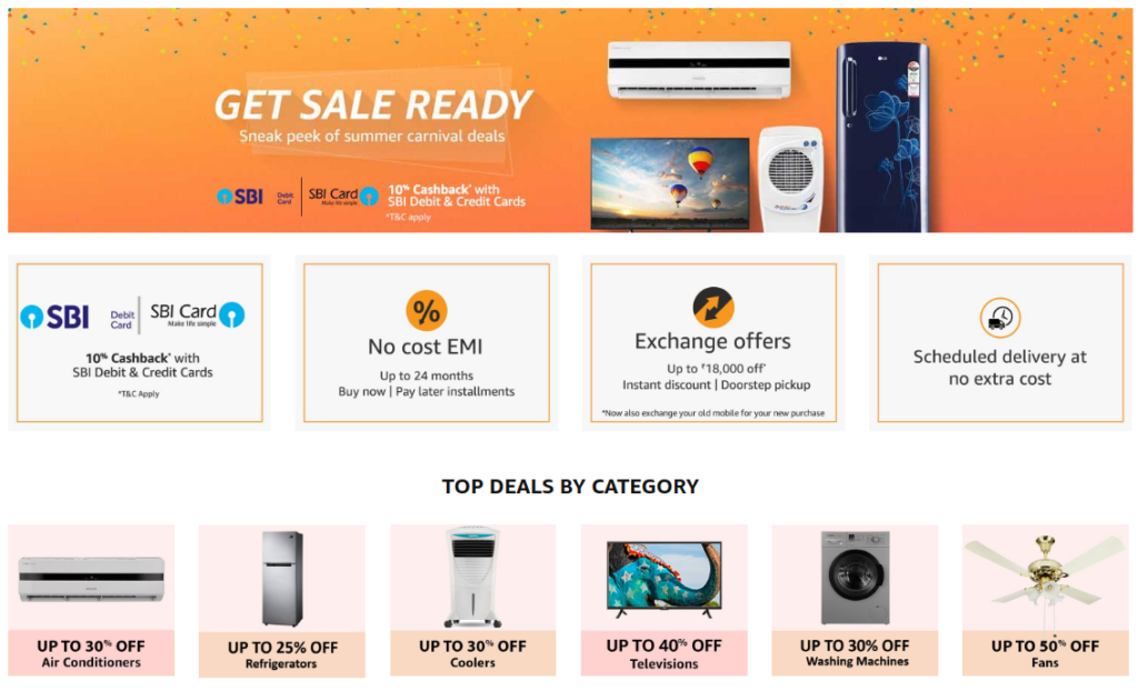 Deals On ACs And Other Electronic Good On Account Of Amazon Summer Carnival Sale