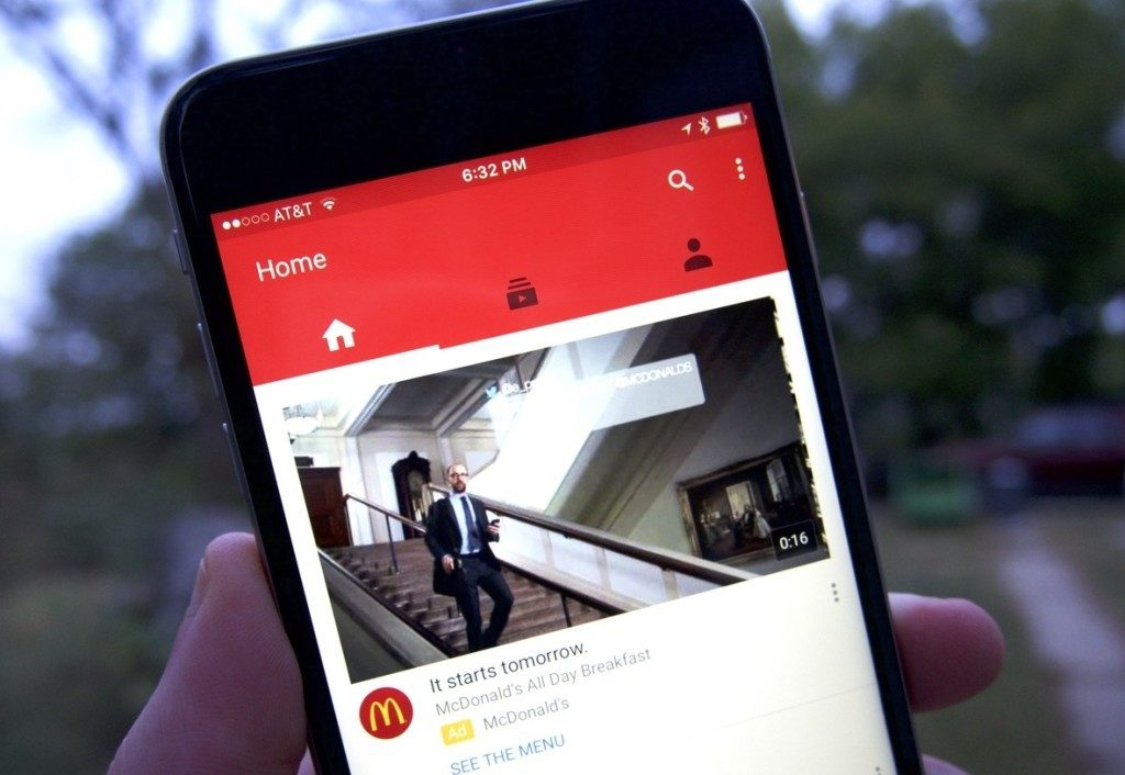 Tabs In Android Applications For YouTube Ready To Receive New Names