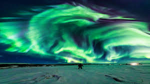 NASA Confused Over Dragon Aurora Over Iceland