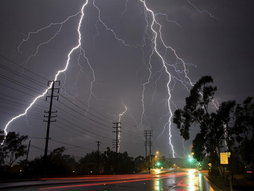 Lightning Detection Network