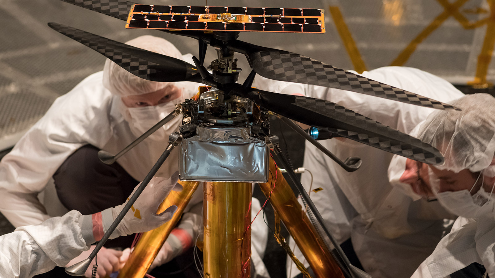 Mars Helicopter Successfully Accomplishes Test Flights