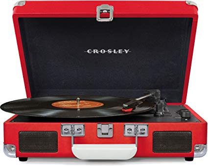 Crosley Cruiser Deluxe 3-Speed Suitcase Turntable